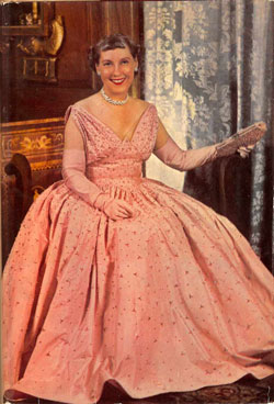 First Lady Mamie Eisenhower