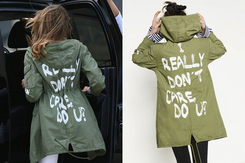 The First Lady Jacket: Il caos di Melania